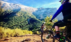 A falta de nieve, La Pinilla triunfa durante el Puente abriendo su Bike Park
