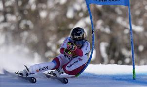 Lara Gut-Behrami con una bajada perfecta consigue el oro en el SG de Cortina