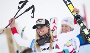 Lara Gut conquista en Lenzerheide la Copa del Mundo de esquí alpino