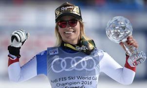 Lara Gut se lleva otro Globo de Cristal en el SG de St. Moritz