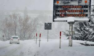 En los Pirineos franceses la nieve caída estos últimos días bate los registros históricos en algunos lugares