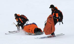 Un estudio médico determina que sólo hay un 0,3% de posibilidades de lesionarse esquiando