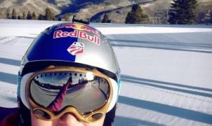 Lindsey Vonn vuelve a esquiar despues de su última lesión