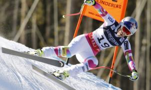 Lindsey Vonn se fractura un tobillo mientras entrenaba en Nueva Zelanda