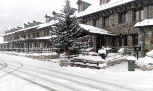 Las estaciones de nórdico aragonesas reciben las primeras nevadas y reclaman apoyo