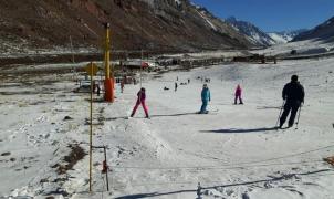 No se podrá esquiar en Los Puquios por falta de nieve