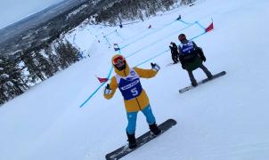 Lucas Eguibar consigue una gran clasificación para las finales de los Mundiales SBX de Idre Fjäll