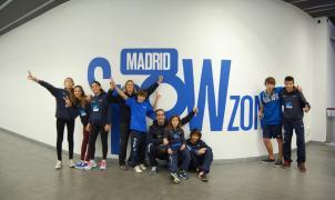 Ainhoa Ibarra y su club AISC preparan la temporada en Madrid SnowZone