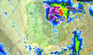 Meteo: Lunes de lluvias, nevadas y polvo del Sahara con acumulados de hasta 30 cm