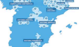 Parte de nieve detoda la península, fin de semana 15/18 de Febrero. Espectacular!