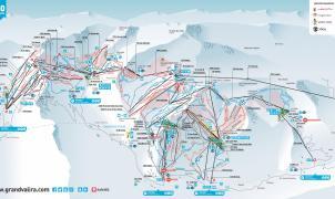 Grandvalira y Baqueira, las mejor situadas en la guía de las 100 estaciones más grandes del mundo