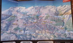 Los clásicos mapas en papel de las estaciones de esquí podrían tener los días contados
