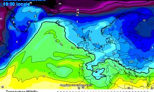 Previsión meteorológica para el fin de semana, nieve y sol