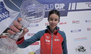 La española Marta Garcia flamante subcampeona de la Copa del Mundo Sprint ISMF