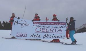 Hoy hace un año, empezaba la temporada de esquí en la Península, ahora el inicio es incierto