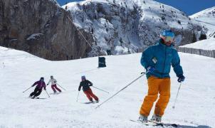 5 meses de temporada, esquí nocturno y nieve artificial, las claves del balance positivo de Masella