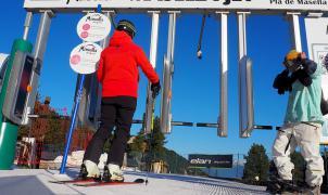 La estación de esquí de Masella seguirá abierta este mes de abril