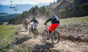 Karim Amour se corona campeón en la Maxiavalanche en Vallnord Bike Park La Massana