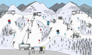 Austria ensaya un nuevo sistema de mapa de pistas más intuitivo y fácil para el esquiador