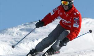 Michael Schumacher se estampa en la nieve