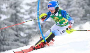 Shiffrin sigue acercándose a su mejor versión con la victoria en el slalom de Jasna
