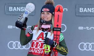 Mikaela Shiffrin vuelve a imponer su ley con la victoria en el Super G de Bansko