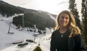 """Mikaela Shiffrin """"Irme de Andorra con 4 Globos de cristal sería uno de mis sueños más salvajes"""""""