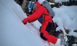 Sergio Mingote equipado por Millet, prepara su asalto al K2 en ascenso invernal