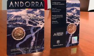 Las Finales de la Copa del Mundo de esquí alpino Andorra 2019 ya tienen su propia moneda