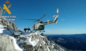 Fallece un montañero en la Montaña Palentina al resbalarse en el hielo en el Pico de Curavacas