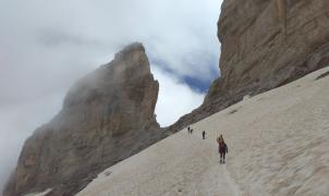 Muere un montañero belga en el Monte Perdido tras sufrir una caída de 100 metros