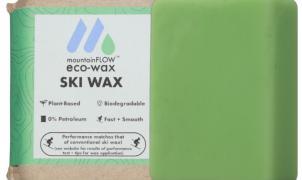 mountainFLOW lanza una cera de esquí 'ecológica' hecha a base de plantas