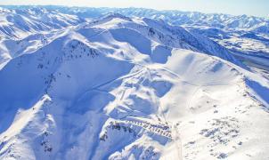 La estación de Mt. Hutt en Nueva Zelanda prolonga la temporada