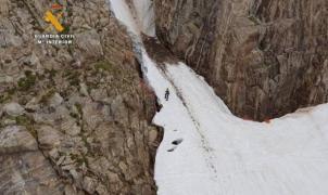 Los rescates llegan a números récord en las montañas de Asturias y el Pirineo Aragonés
