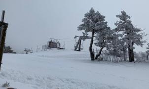 La estación de esquí del Puerto de Navacerrada abrirá este viernes, 1 de enero de 2021