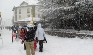 La nevada permitirá abrir mañana 78 km de pistas en Sierra Nevada