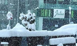 Así está nevando el 1 de mayo en el Pirineo