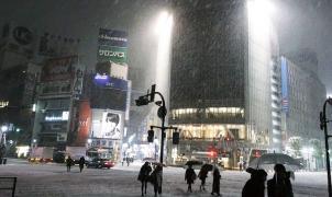 Intensas nevadas en Japón dejan 120 heridos y caos con decenas de vuelos cancelados