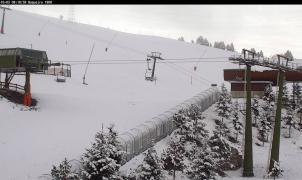 Imágenes y vídeos de la nevada en la Península este fin de semana de octubre