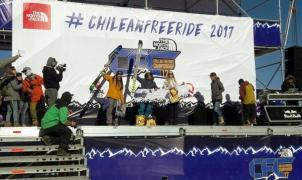 Se disputa el The North Face Chilean Freeride Championship con Leo Slemett de estrella