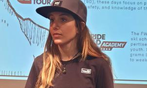 Núria Castán se instala en Innsbruck para preparar el Freeride World Tour 2021