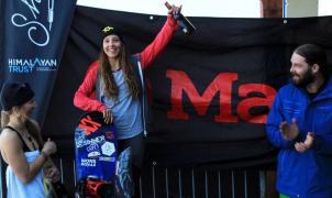 Victoria de Nuria Castán en el Freeride World Qualifier de Nueva Zelanda