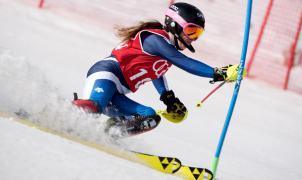 Núria Pau y Quim Salarich se proclaman campeones de España de Slalom en Espot