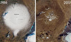Okjökull, el primer glaciar muerto en Islandia