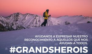 ¿Conoces la cara solidaria de los esquiadores de Grandvalira en la lucha contra el coronavirus?
