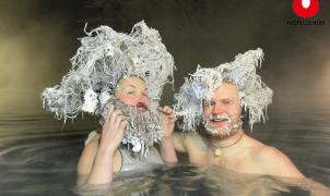 2.000 dólares por ganar un hilarante concurso de congelación del cabello en Canadá