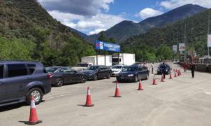 Reabierta la carretera de acceso a Andorra desde la Seu d'Urgell con paso exclusivo para los coches