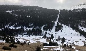 Reinicio de las obras del telesilla y las nuevas pistas en el Peretol (Grandvalira)