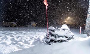 La tormenta deja más de 50 cm de nieve en la estación australiana de Perisher