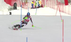 Petra Vlhova consigue una importante victoria sobre Mikaela Shiffrin en el SL de Are